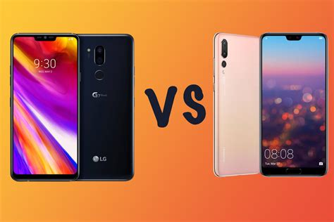 LG G7 ThinQ vs Huawei P20 Pro: What's the difference