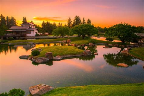 This tranquil Japanese garden is one of the most beautiful
