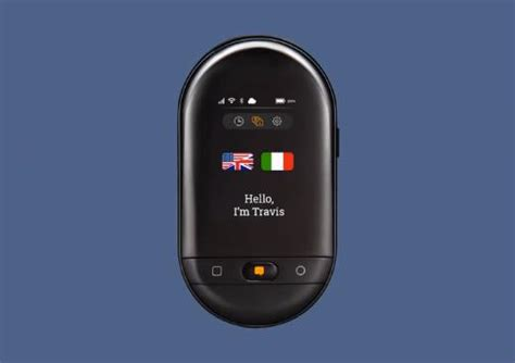 Travis Touch Plus Voice Translator Device: Complete User
