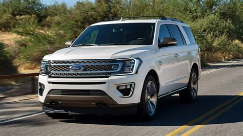 2020 Ford Expedition Gets King Ranch Trim, Platinum