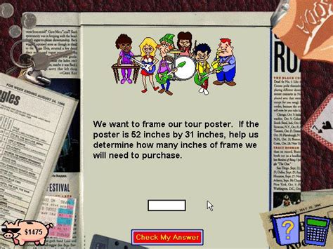 Math for the Real World Download (1997 Educational Game)