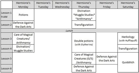 How did Hermione get to all of her classes in third year