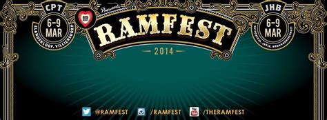 Ramfest Cape Town 2014 Full Line Up and Times – Boring
