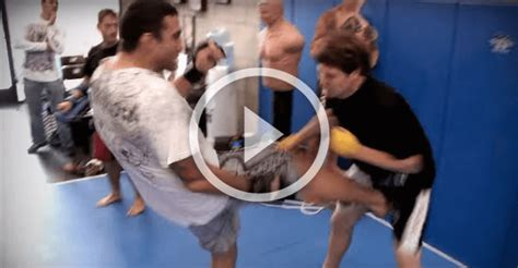 NUTS!! Werdum Drills Man's Testicles With Full Force Kick