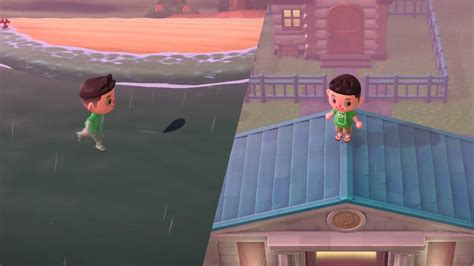 New Animal Crossing: New Horizons Glitch Lets You Walk On