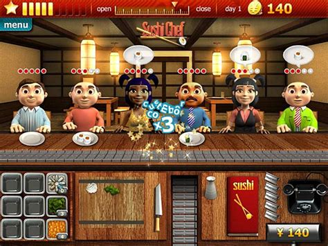Download Youda Sushi Chef Game - Time Management Games