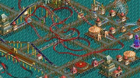 RollerCoaster Tycoon World brings co-op multiplayer to