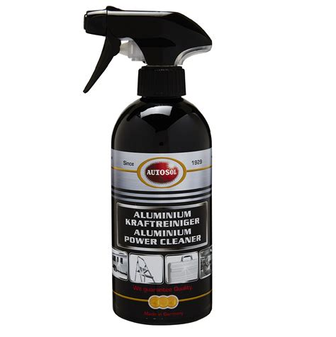 Aluminium Cleaner 500ml - A spray-on, wipe-off product!