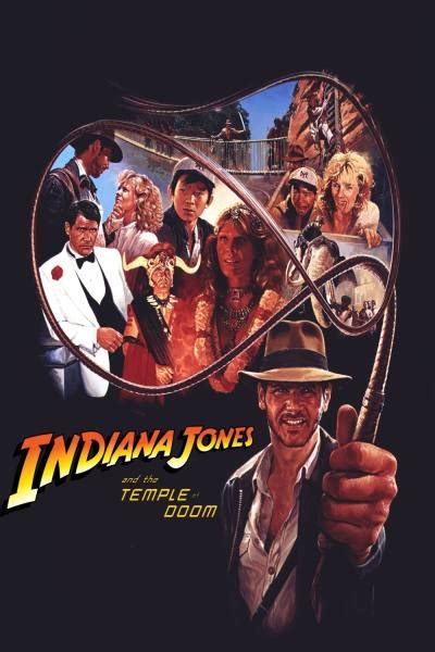 Indiana Jones and the Temple of Doom Poster 24   GoldPoster