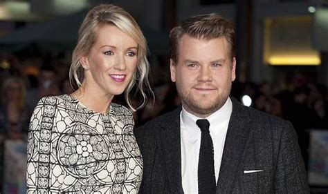 'They're delighted' James Corden and wife Julia Carey