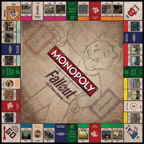 Here's a closer look at the Monopoly: Fallout Collector's