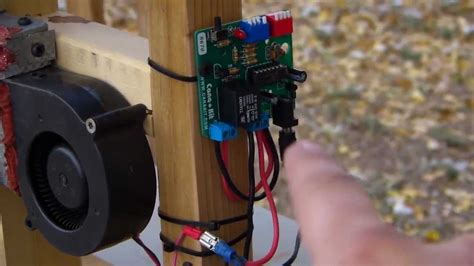 DIY 12v Pellet Stove Control And Auger - YouTube