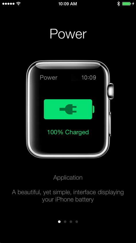 Power Sends iPhone Battery Life Notifications to Your