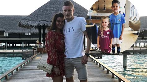 Rebekah Vardy and children land in Russia for term-time