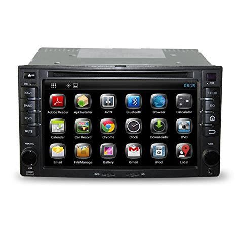 Bosion 2Din Android Touch Screen Car DVD Player Radio For