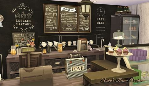 Deli & Grocery Store at Ruby's Home Design » Sims 4 Updates