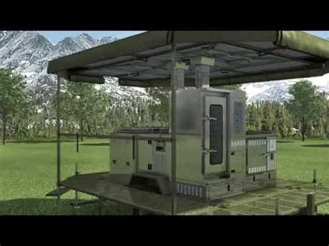 SERT military field kitchen catering life camp solution