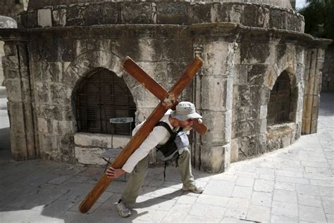 Good Friday in Jerusalem: Christians from around the world