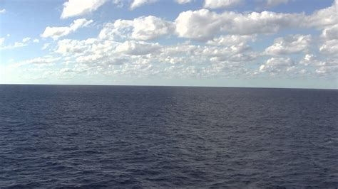 Five Minutes of Ocean View Balcony from ship - YouTube