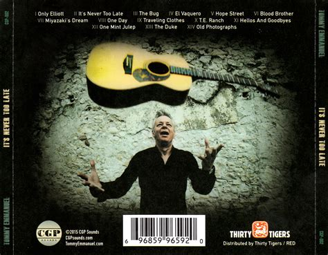 Tommy Emmanuel - It's Never Too Late (2015) / AvaxHome