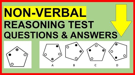 Non-Verbal Reasoning Test Questions and Answers (PASS