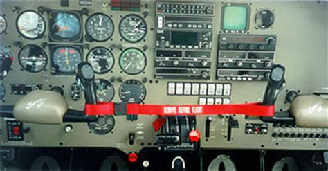 Piper Aircraft Control Lock-Airplane Things