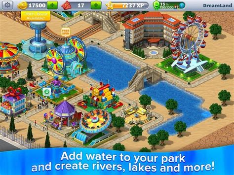 Download RollerCoaster Tycoon® 4 Mobile [MOD Coins/Tickets