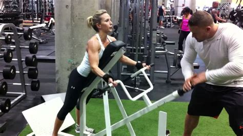 Back & Shoulder Exercises For Women by a Female Fitness