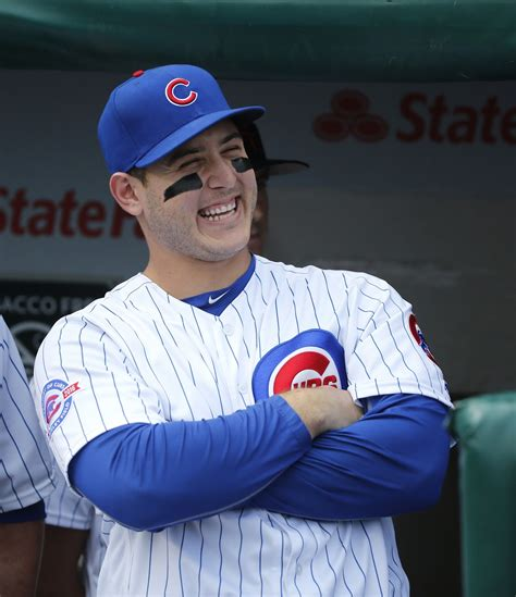 Home schooled: Anthony Rizzo learned to give it his all