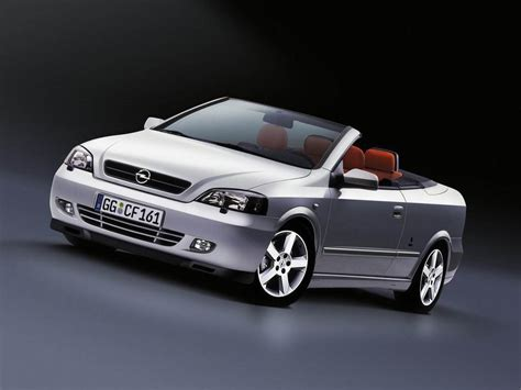 2002 Opel Astra Cabriolet Review - Top Speed