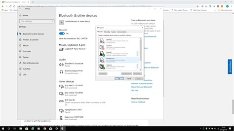 Bluetooth headphones connecting and pairing, but Windows